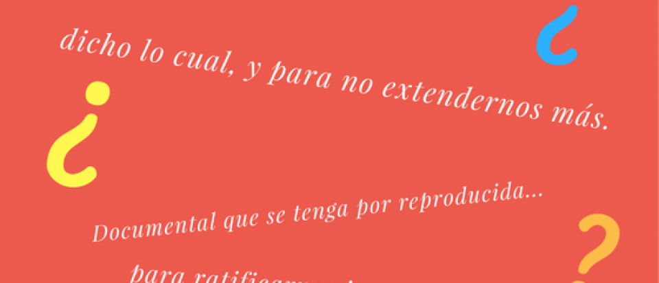 frases hechas.